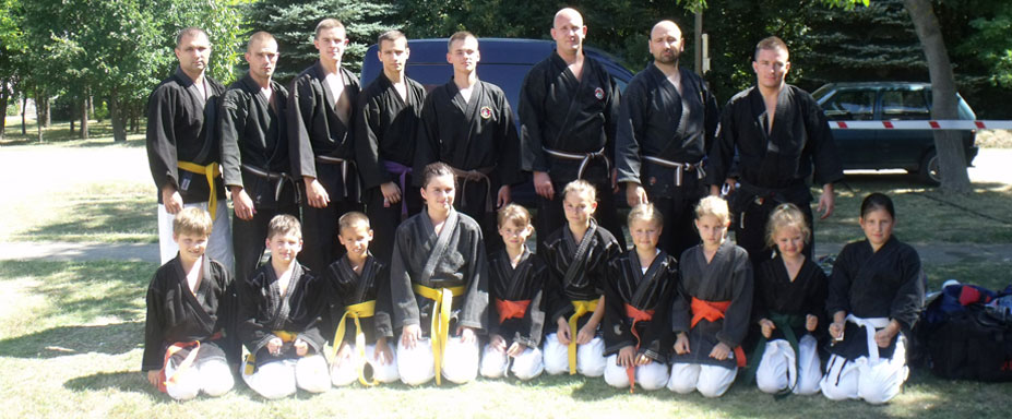 Kempós csapat csoportkép